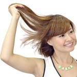 女性の綺麗な髪の毛